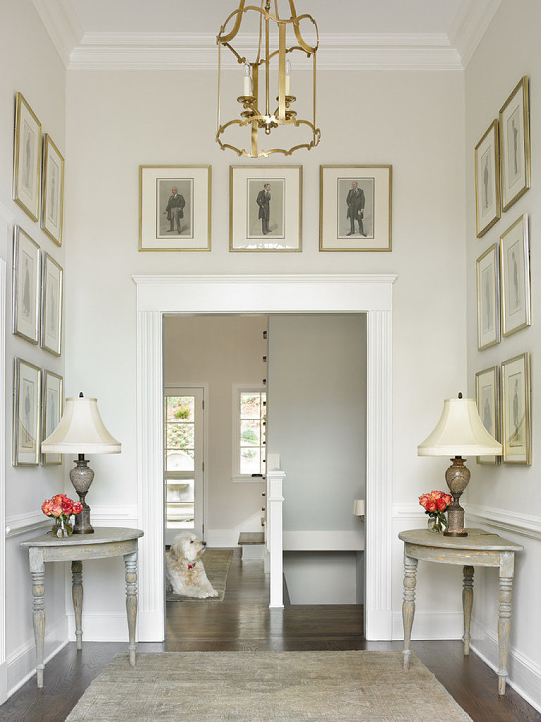 Foyer Paint Benjamin Moore : Entryway ideas popsugar home