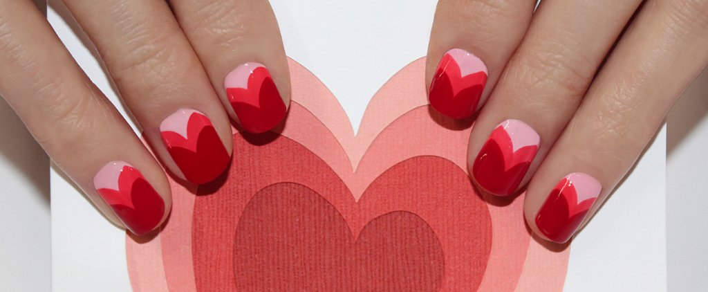 We Seriously Heart This Valentine's Day Nail Art by Jin Soon