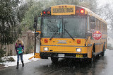 School Bus Driver Makes Sure Kids Get Home