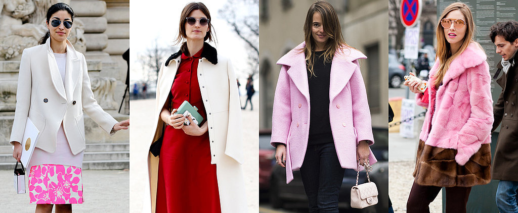 There's No Shame in a Chic Pink or Red Outfit
