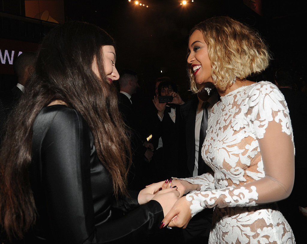 After Lorde's big wins at the Grammys, Beyoncé congratulated her. Yes, it was when Queen Bee met Queen Bey.