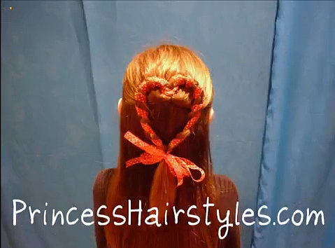 Ribbon Heart Braid
