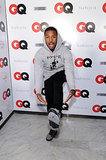 Michael B. Jordan showed off his kicks at the GQ event on Friday.