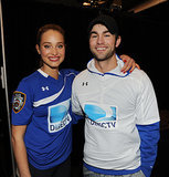 Chace Crawford and Hannah Davis made a cute pair at the DirecTV Beach Bowl.