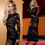 Beyonce in Black Dress Saturday Night Live