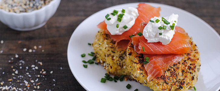 Savory Sight: Everything Bagel Quinoa Cakes