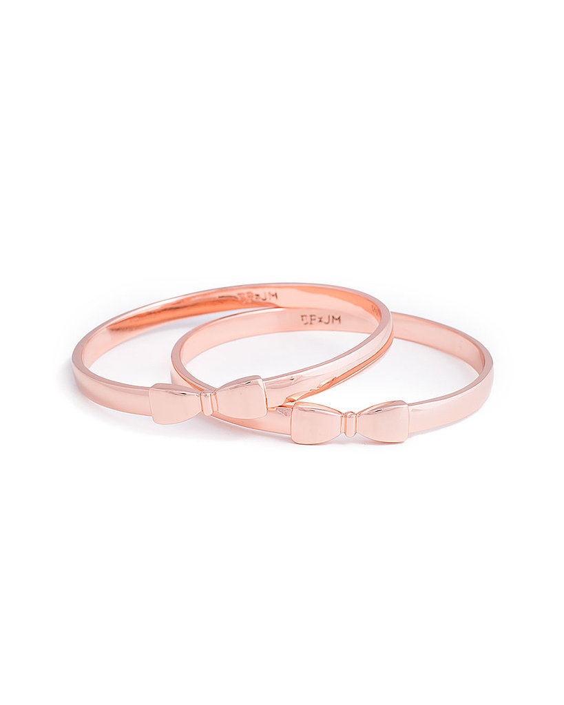 Erin Fetherston for JewelMint Bow Bangles ($30)