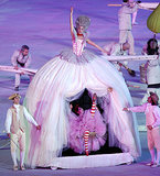 And the wild, Alice-in-Wonderland-style dresses with people inside them.