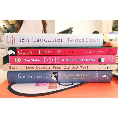 I posted a few of 2014's new juicy reads on the POPSUGAR Love & Sex Instagram.