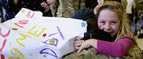 This Military Squadron's Sweet Homecoming Will Tug at Your Heartstrings