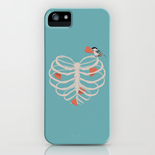 Heart collector case ($35) for iPhone models and Samsung Galaxy S4