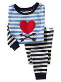 Heart Stripe Sleep Set