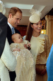 Kate and Will looked like proud parents when they attended George's baptism in October 2013.