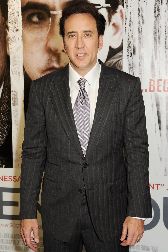 Nicolas Cage will star in Men With No Fear as a crook who's recently been released from prison. He's looking for revenge on the boss who set him up and hopes to reconnect with his son.
