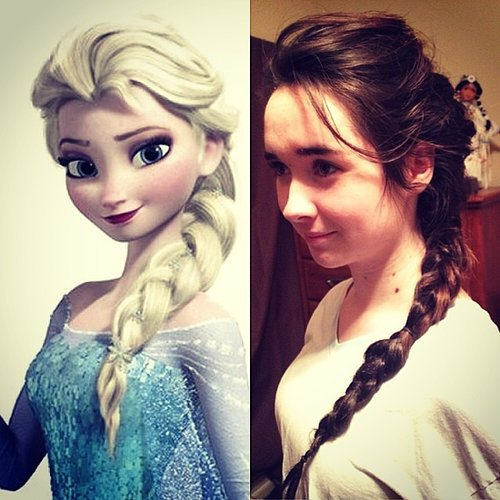 Elsa's Long Braid
