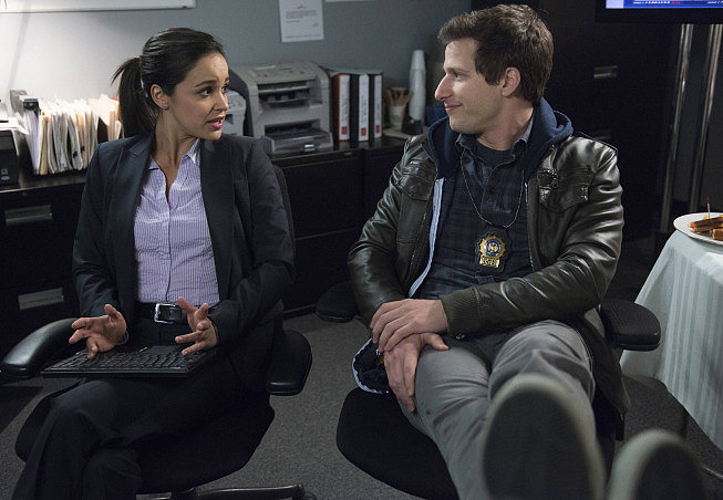 Amy and Jake on Brooklyn Nine-Nine