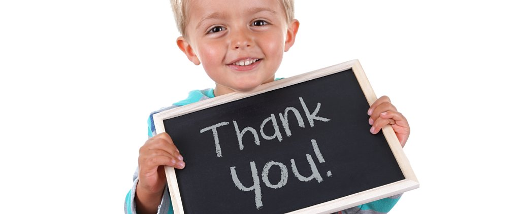 The Secret to Teaching Your Children How to Express Gratitude