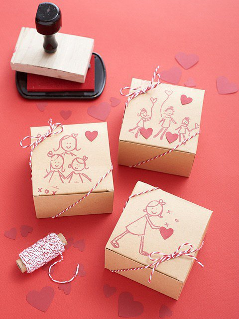 Rubber-Stamp Box