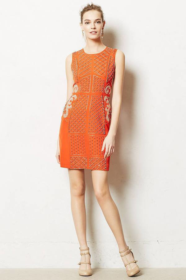 Anthropologie Pravara Orange Dress ($248)