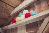 DIY Balls of Yarn
