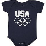 Team USA Navy Blue Bodysuit