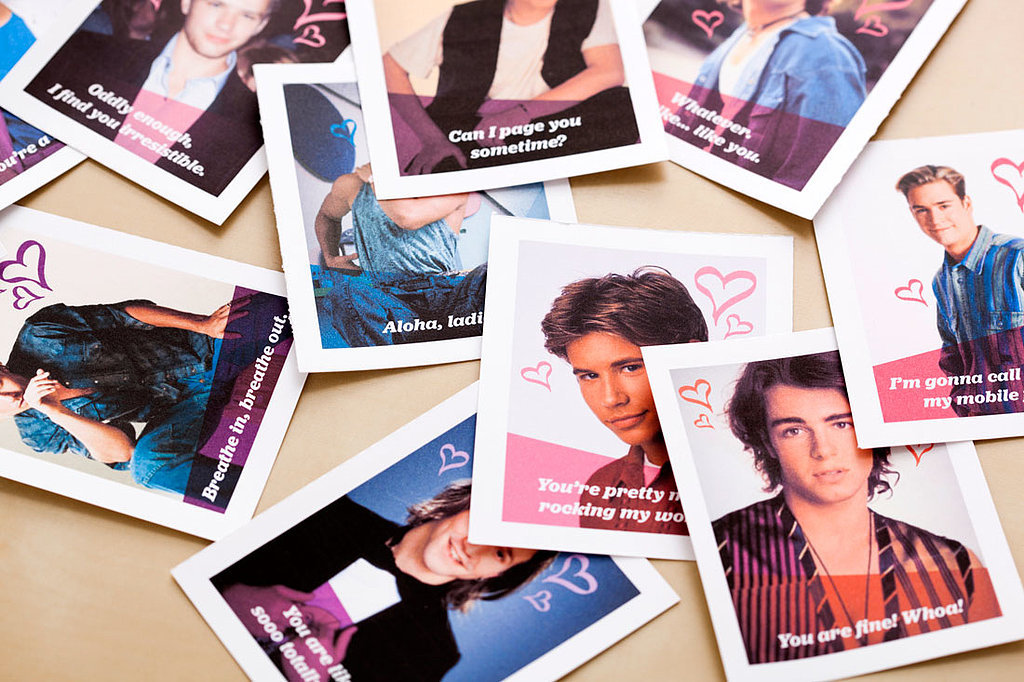 Will You Be My '90s Heartthrob Valentine?