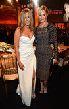 Jennifer posed for photos with Melanie Griffith at the AFI Lifetime Achievement Award dinner in LA in June 2012.
