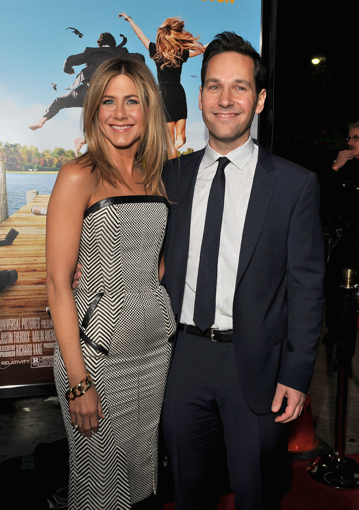 Jennifer was beaming while on the red carpet with Paul Rudd at the LA premiere of Wanderlust in February 2012.