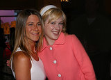 She posed with a barely recognizable Zooey Deschanel during the LA premiere of The Good Girl in June 2002.