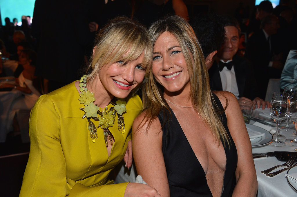 She and Cameron Diaz made a cute pair at a LACMA event in October 2012.