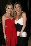 Not only is Jen friends with Ben Stiller, but she's close with his wife, Christine Taylor, as well — they posed together at the American Cinematheque Awards ceremony in November 2012.