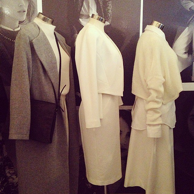 Veronika Maine has our Winter wardrobes sorted, thanks to these lush coats. We're edging towards the grey. . .