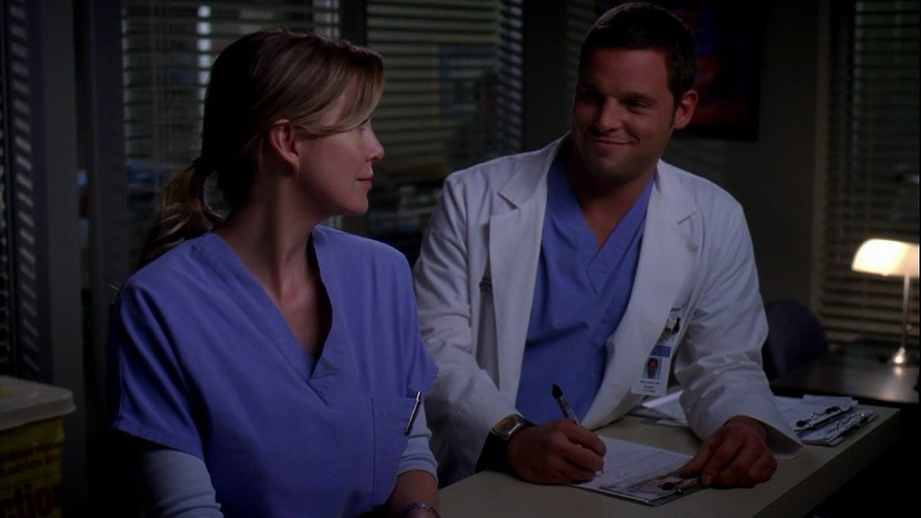 Meredith and Alex, Grey's Anatomy