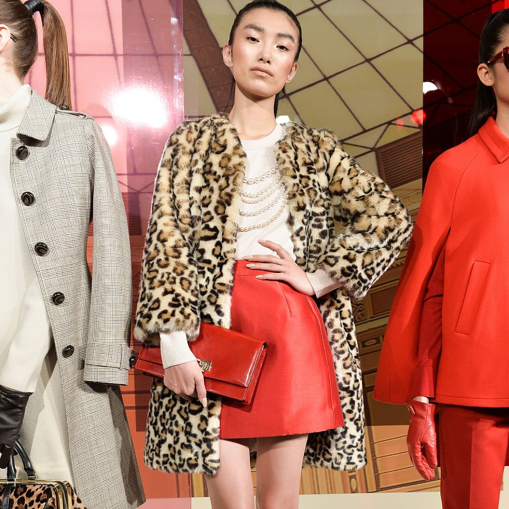 Kate Spade New York Fall 2014 Runway Show Ny Fashion Week Popsugar Fashion