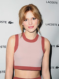 Bella Thorne at Lacoste