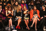 Rebecca Minkoff's front row featured a star-studded lineup.