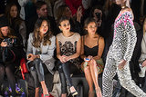 Aimee Song, Victoria Justice, and Jamie Chung took in Mara Hoffman's designs from the front row.