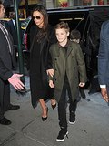 For the Beckhams, Family Comes First at New York Fashion Week