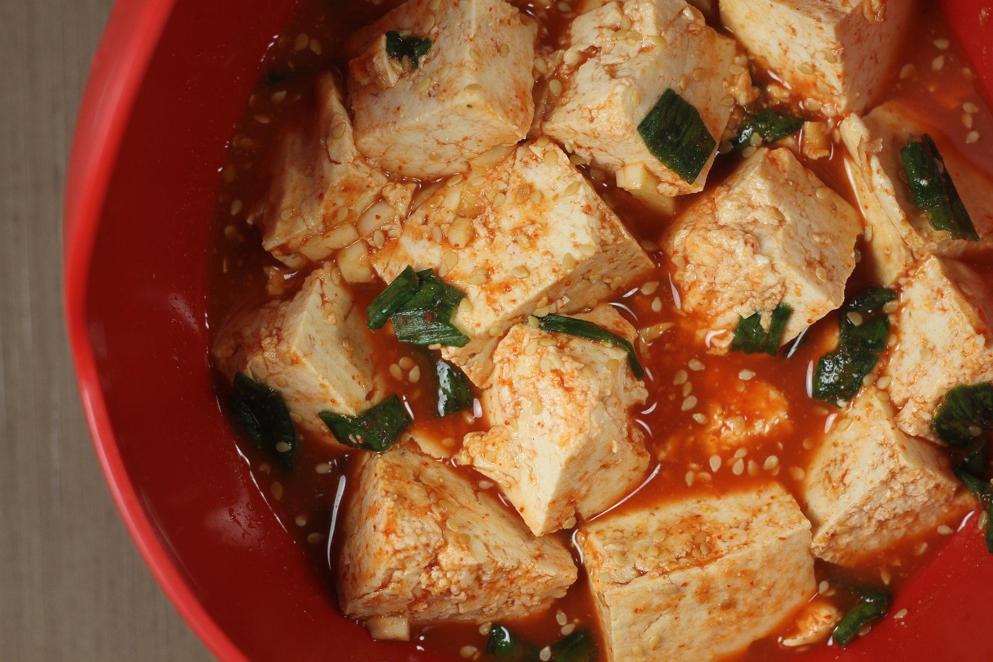 Spicy Tofu and Broccoli Stir-Fry | POPSUGAR Food