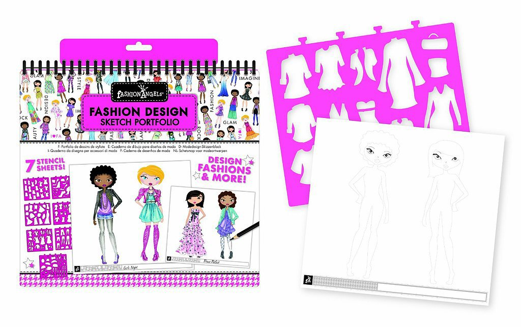 Fashion Angels Fashion Design Portfolio