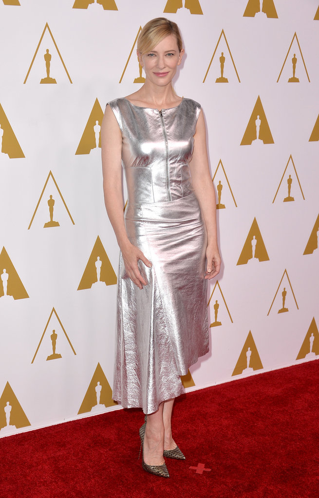 Cate Blanchett at the 2014 Academy Awards Nominees Luncheon