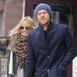 Lara Bingle and Sam Worthington Pictures in New York