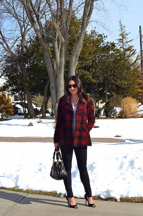 Congrats, ProseccointhePark! We're mad about your plaid coat.