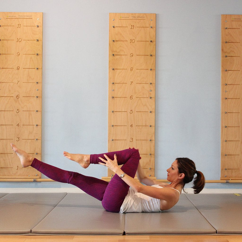 Pilates Series of Five Workout
