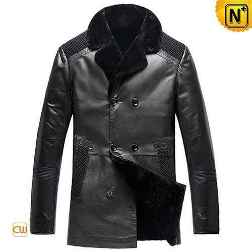 Mens Winter Sheepskin Shearling Coats CW877900
