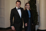 Bradley Cooper brought his girlfriend, British model Suki Waterhouse, as his date.