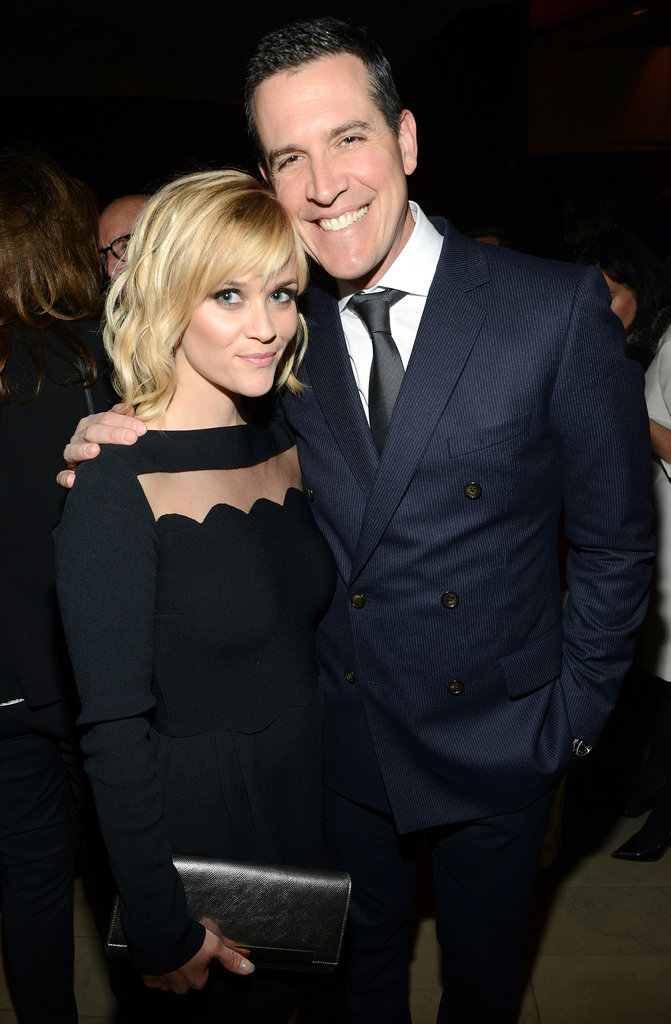 Reese Witherspoon brought Jim Toth as her date.