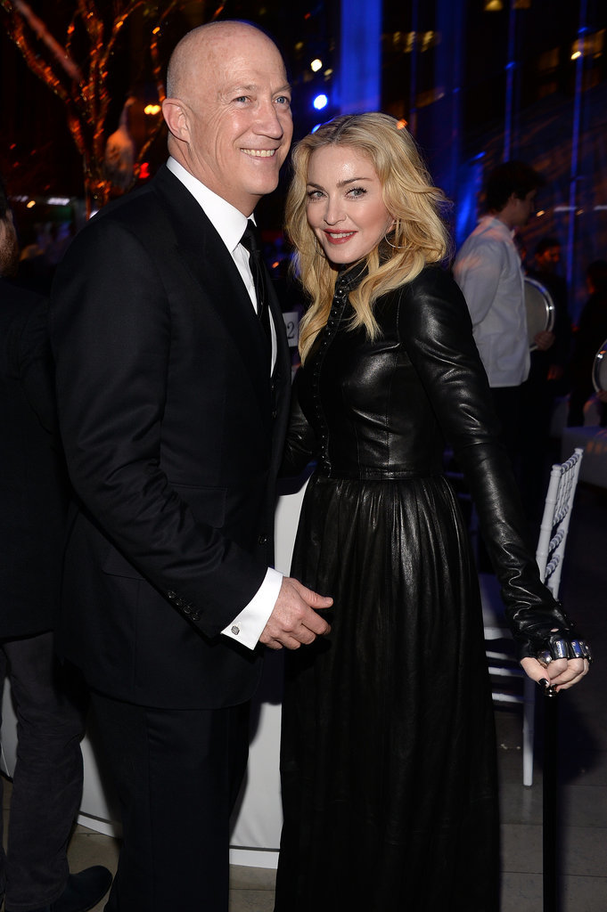 Madonna chatted with the man of the hour, Bryan Lourd.