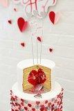 Secret Heart Cake
