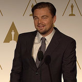 Leonardo DiCaprio Interview at 2014 Oscars Lunch (Video)